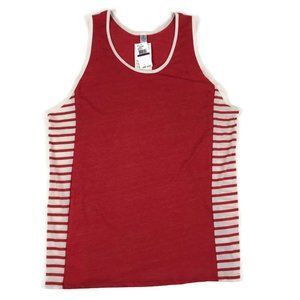 NWT Alternative Apparel Red Tank Top Mens 2XL